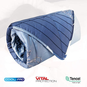 EULEVEN Cooling Quilt Blanket | Mosquito Repellent | CoolPro Technology
