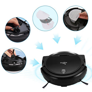 EULEVEN 3-in-1 Floor Robotic Vacuum Filter & Brushes (Filter & Brushes Only)
