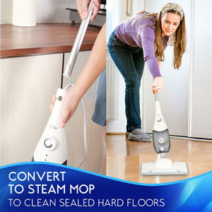 EULEVEN Steam Mop Cleaner 5-in-1, Whole House Multipurpose Use by steam