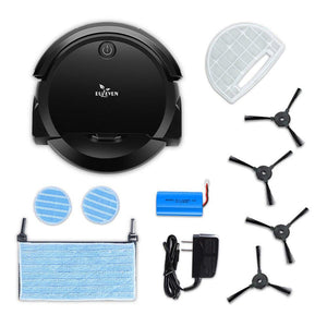 Euleven 3-in-1 Floor Robotic Vacuum With Smart Mopping Cleaner
