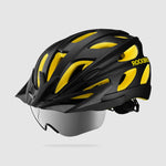 Bike Helmet with Magnetic Eye Shield