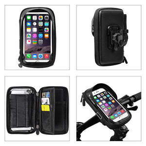 360° Handlebar Touch Screen Phone Bag