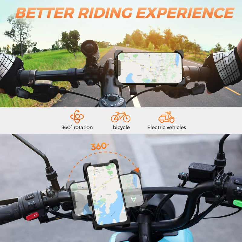 One-Click Bike Phone Holder