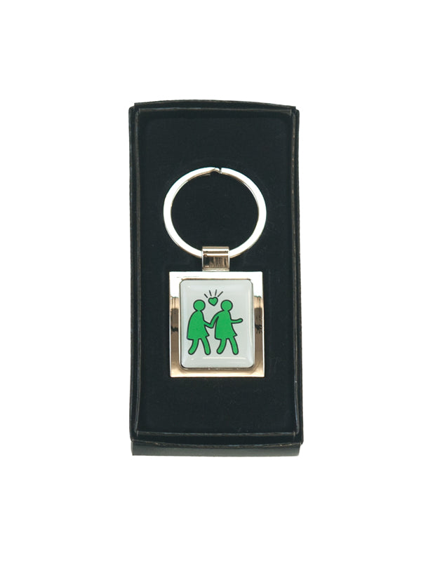 Keyring Keith Haring Voice of Love