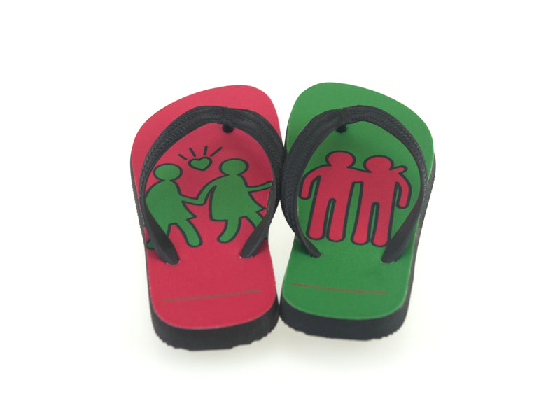 FlipFlops Keith Haring