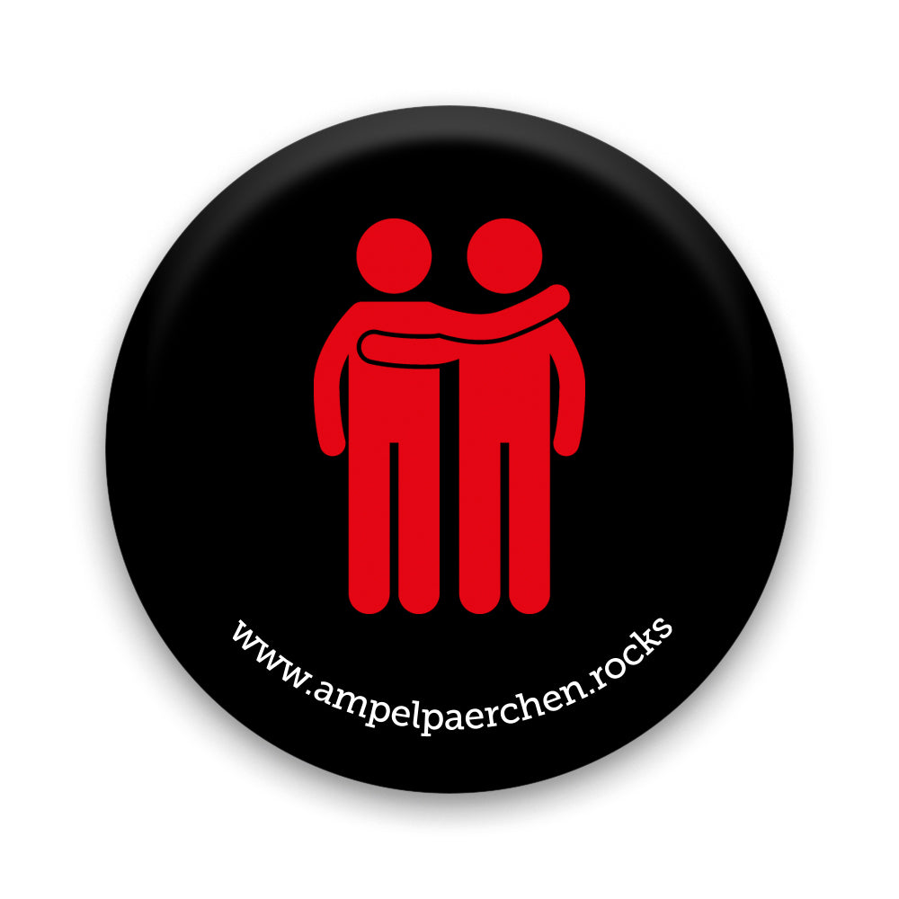 Needle button - Let's stop together! Man♥Man