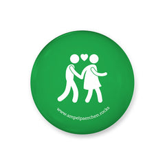 Needle Button - Let's feel green together! Man♥Woman