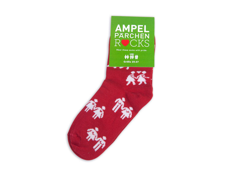 Socks Kids Allover red