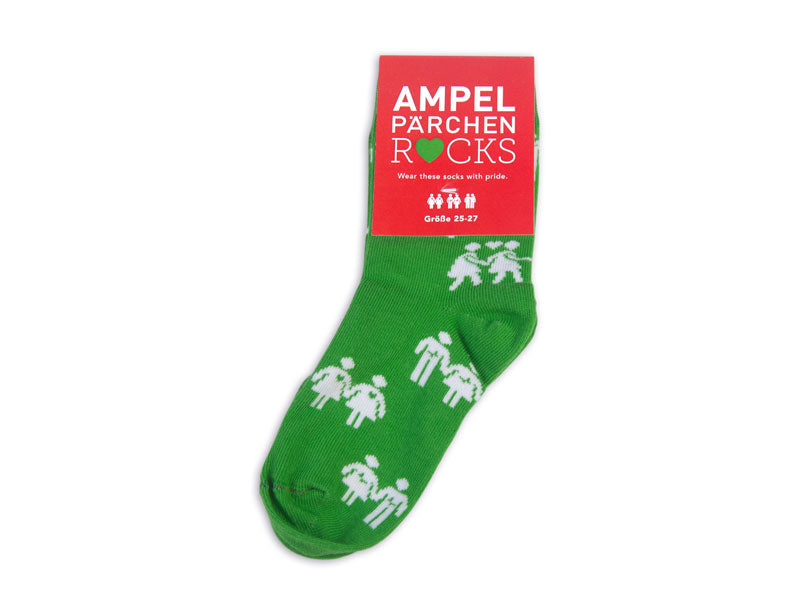 Socks Kids Allover green
