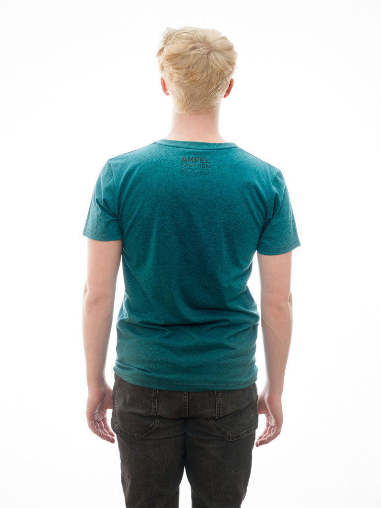 All Lights Vintage- T-Shirt - Petrol