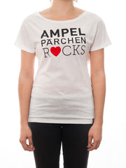 T-Shirt Ampelpärchen rocks! Of course! White