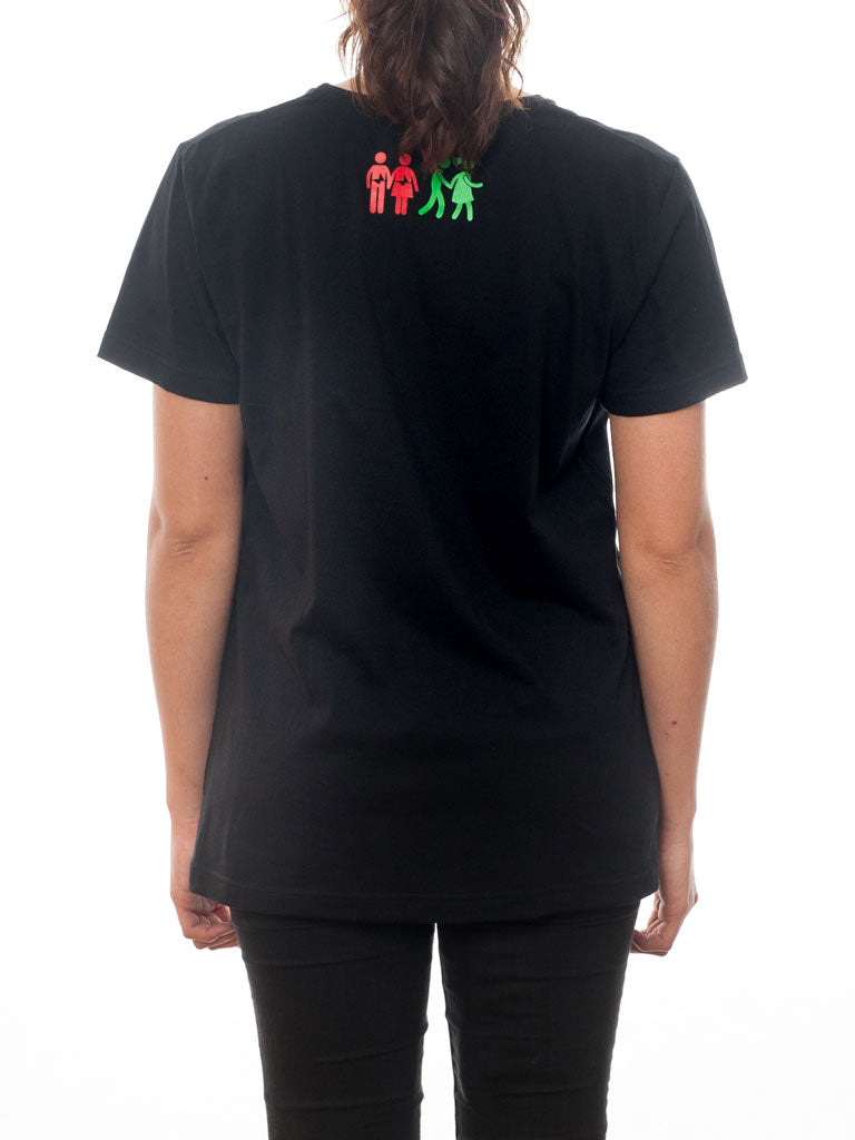 Perfect for a hot Summer Day - T-Shirt Feeling Black, Short Sleeve
