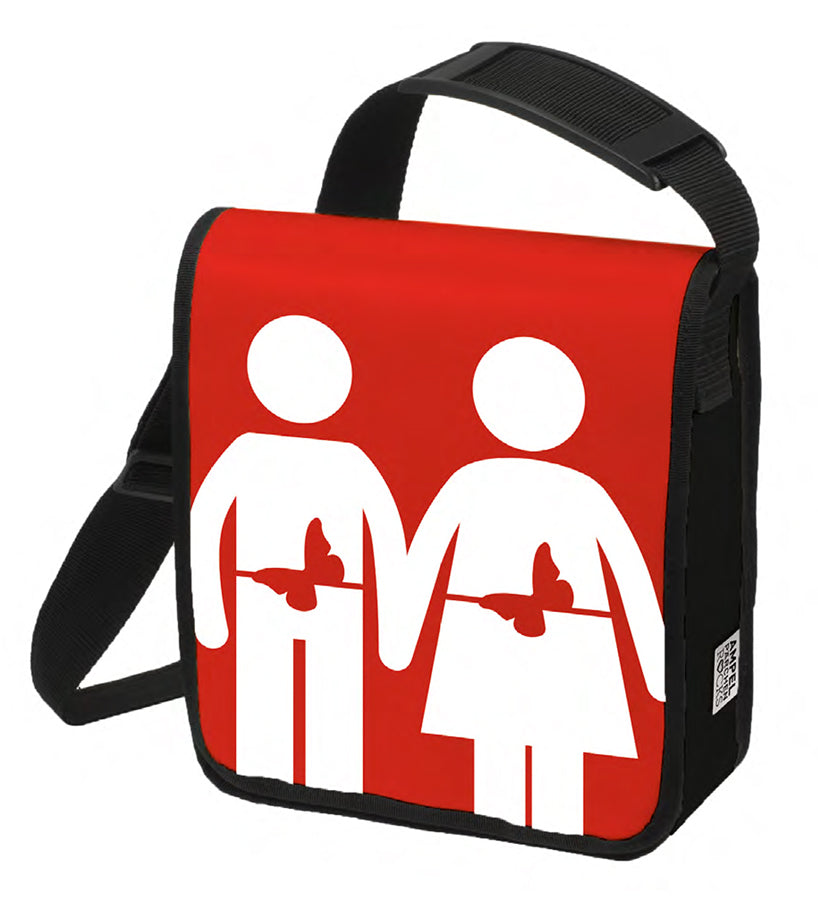 Red shoulderbag Feeling