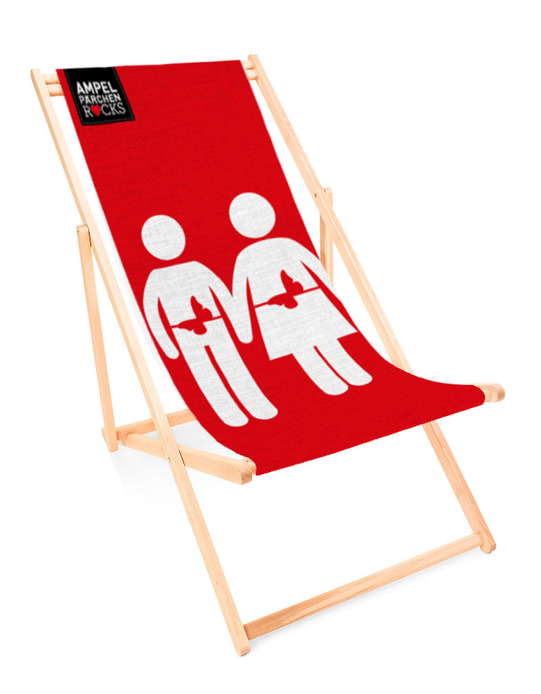 Deckchair Feeling Red - for your lazy day in the sun!