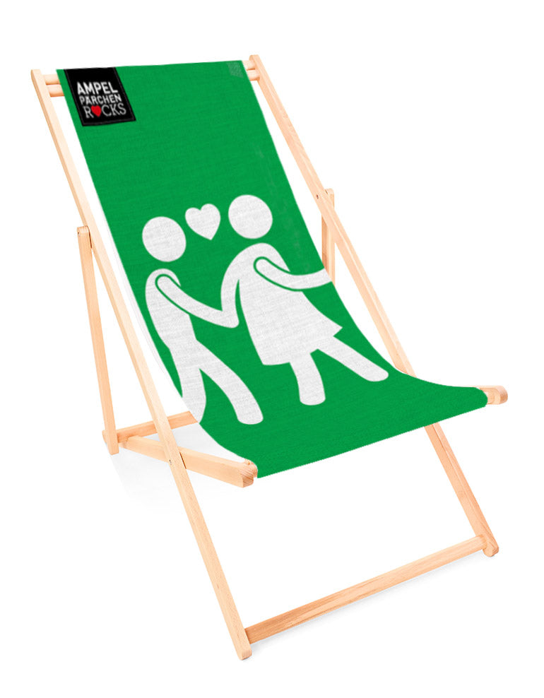 Deckchair Feeling Green -  for your lazy day in the sun!