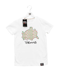 Kids T-Shirt Vienna white