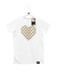 Kids and Baby T-Shirt Heart white