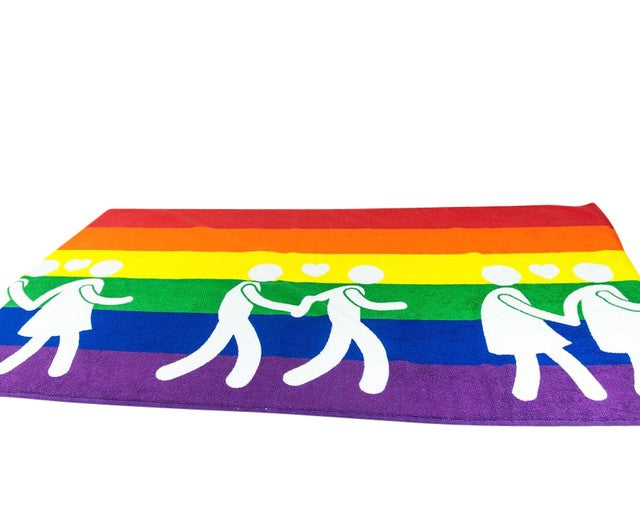 Showertowel Rainbow