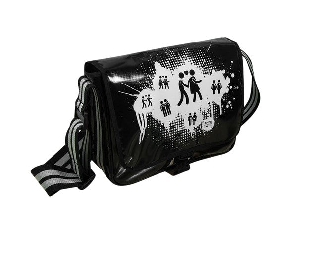 Black Shoulderbag Splash