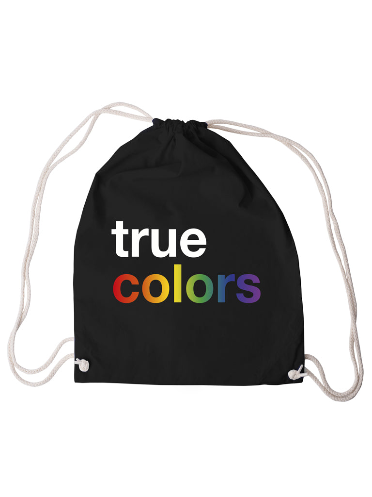 Gym Bag True Colors - Black