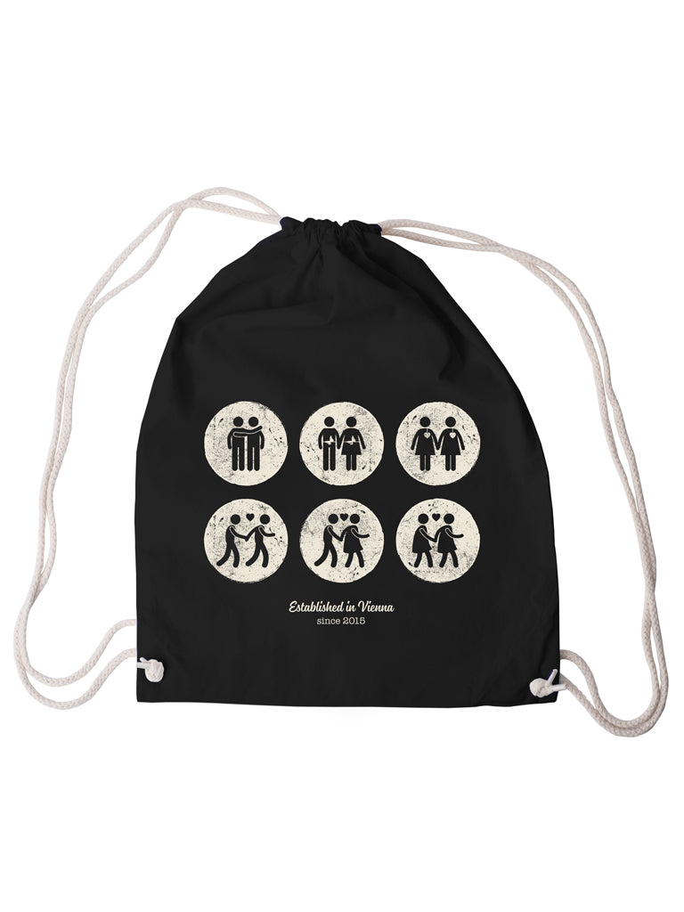 Gym Bag Vintage Black