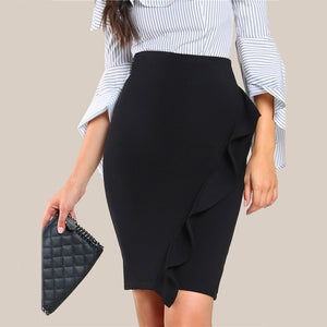 Pencil Waffle Skirt