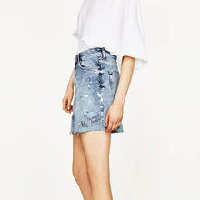 WW Denim Pencil Skirt