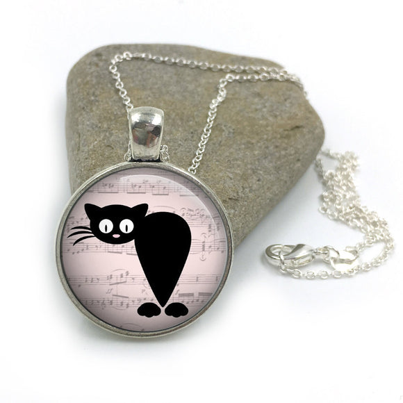 Cat Animal Necklace| Cat Lover Jewellery| Cats jewelry| Cat Gifts| Cat Lover Gifts| Cat Necklace| cat pendant| gift for wife| Gift for Her 3