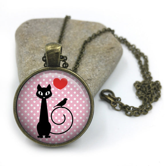 Cat Animal Necklace| Cat Lover Jewellery| Cats jewelry| Cat Gifts| Cat Lover Gifts| Cat Necklace| cat pendant| gift for wife| Gift for Her 8