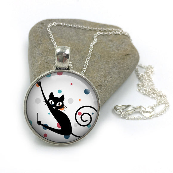 Cat Animal Necklace| Cat Lover Jewellery| Cats jewelry| Cat Gifts| Cat Lover Gifts| Cat Necklace| cat pendant| gift for wife|Gift for Her 15