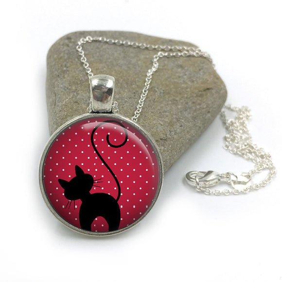 Cat Animal Necklace| Cat Lover Jewellery| Cats jewelry| Cat Gifts| Cat Lover Gifts| Cat Necklace| cat pendant| gift for wife|Gift for Her 19
