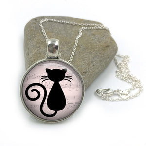 Cat Animal Necklace Pendant| Cat Lover Jewellery| Cats jewelry| Cat Gifts| Cat Lover Gifts| Cat Necklace| cat pendant| gift |Gift for Her 20