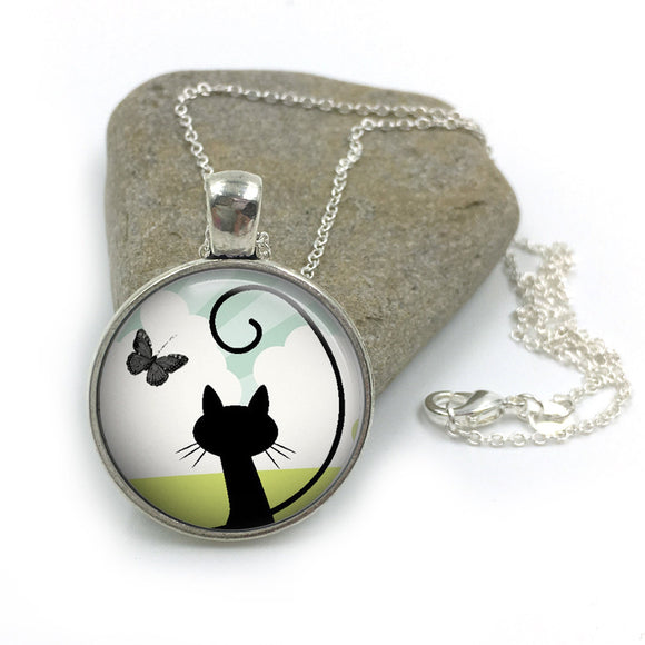 Cat Animal Necklace| Cat Lover Jewellery| Cats jewelry| Cat Gifts| Cat Lover Gifts| Cat Necklace| cat pendant| gift for wife| Gift for Her 5