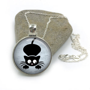 Cat Animal Necklace| Cat Lover Jewellery| Cats jewelry| Cat Gifts| Cat Lover Gifts| Cat Necklace| cat pendant| gift for wife| Gift for Her 7