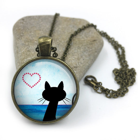 Cat Animal Necklace| Cat Lover Jewellery| Cats jewelry| Cat Gifts| Cat Lover Gifts| Cat Necklace| cat pendant| gift for wife|Gift for Her 11