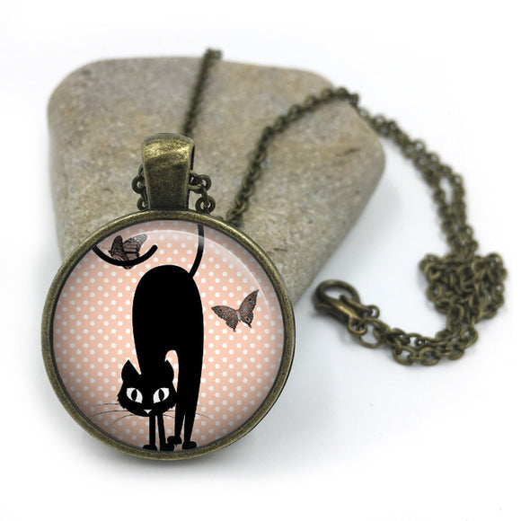 Cat Animal Necklace| Cat Lover Jewellery| Cats jewelry| Cat Gifts| Cat Lover Gifts| Cat Necklace| cat pendant| gift for wife|Gift for Her 18