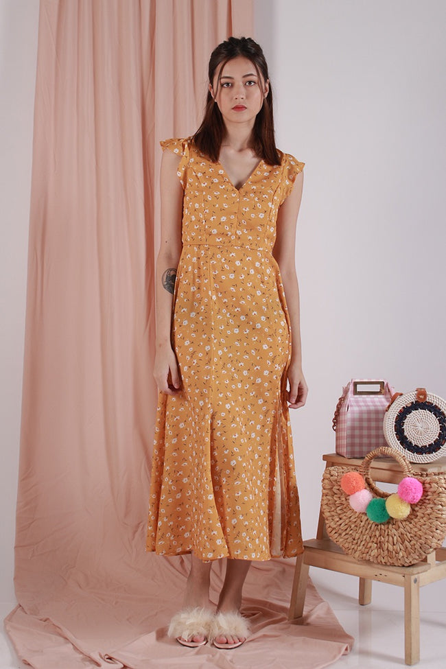 SUNDAY BRUNCH MAXI DRESS