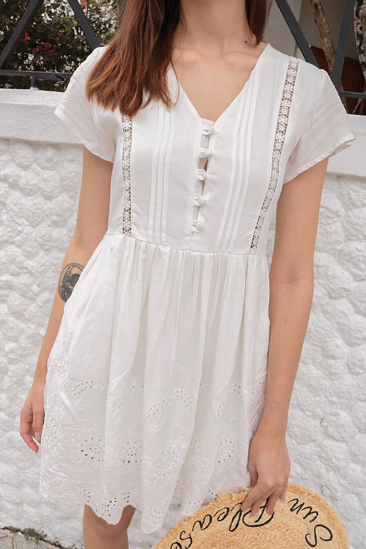 FORGET ME NOT DRESS (EYELET)