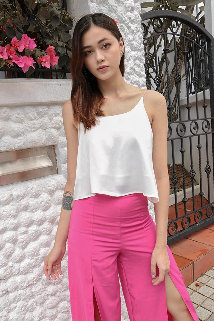 DORAMA BASIC TOGA TOP (WHITE)