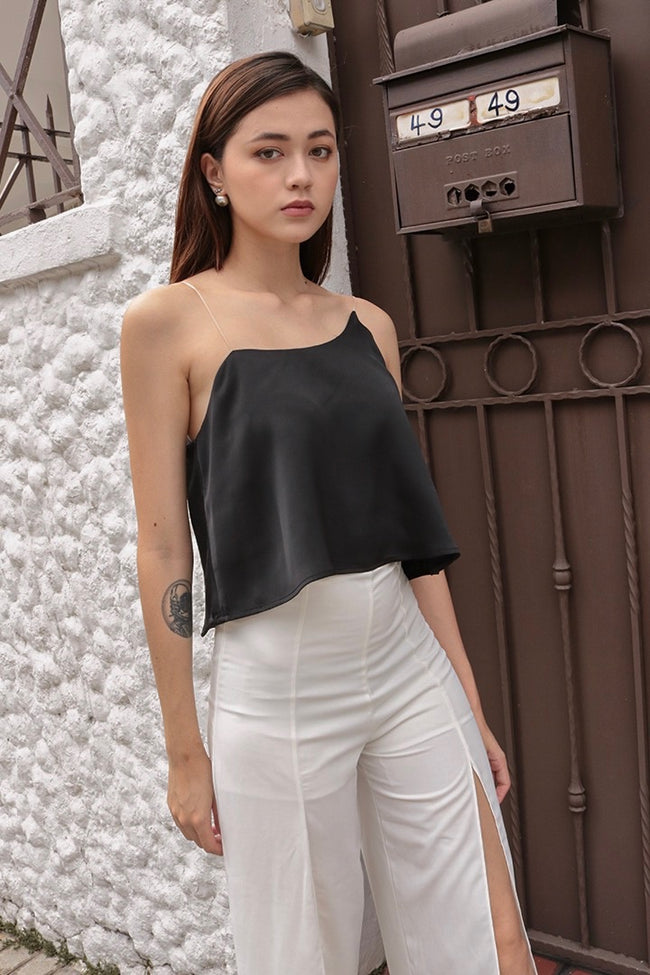 DORAMA BASIC TOGA TOP (BLACK)