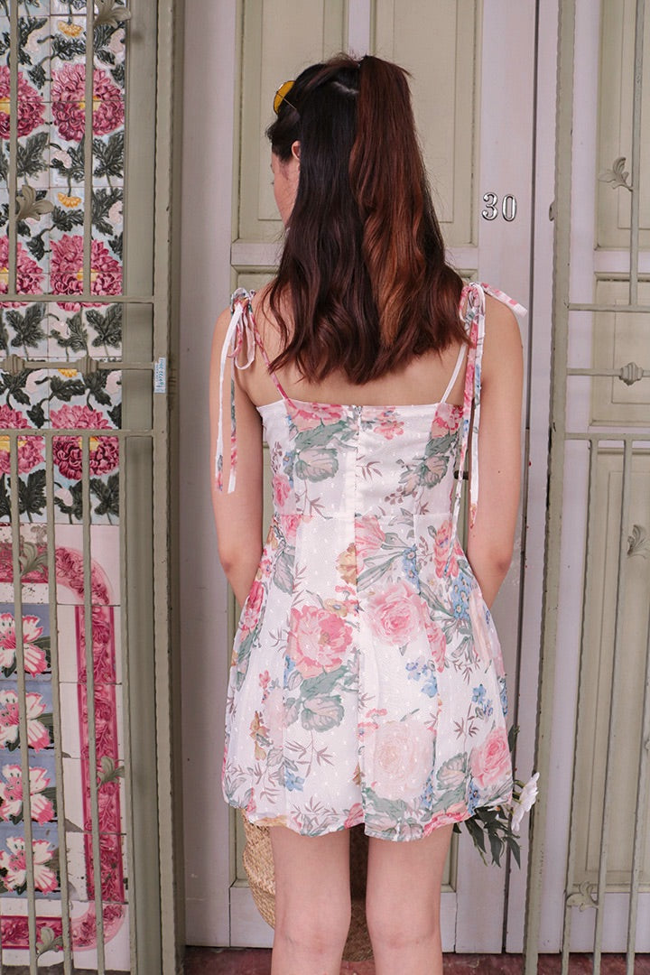 ARIANA RUFFLES DRESS (FLORAL)