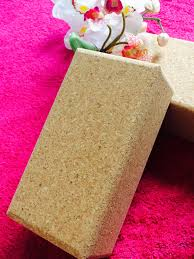 "Jasmine Fitness Yoga Cork Block 9"" x 6"" x 3"""