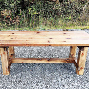 Handmade Farm Harvest Table