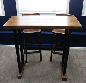 Bistro Table (Rectangular, Steel Legs)