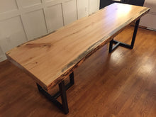 "3"" Thick Single-Slab Live Edge Dining Table"