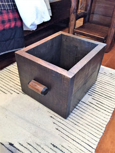 solid drawer box