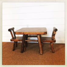 childs chair table set