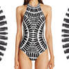 Image of  High Neck One Piece Swimsuit