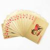 Image of GOLD FOIL POKER PLAYING CARDS