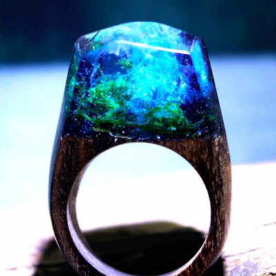 MAGIC WOODEN RING